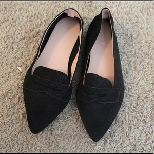 TopShop black suede shoe. Never worn!!